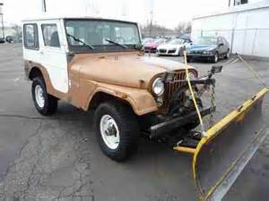 Snow Plows For Jeeps Sell Used 1973 Jeep Cj5 With Snow Plow Starts And Runs