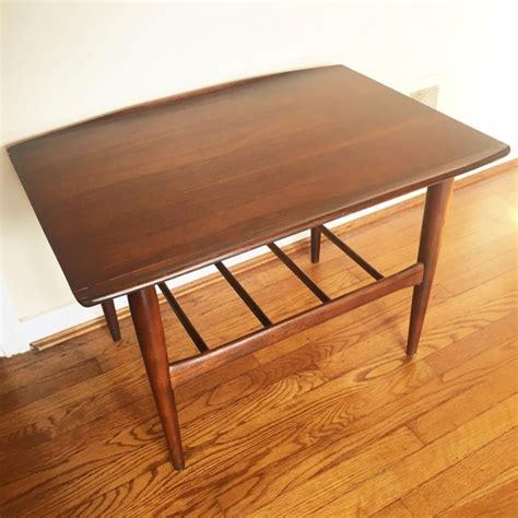 vintage mcm  tables bassett artisan collection epoch