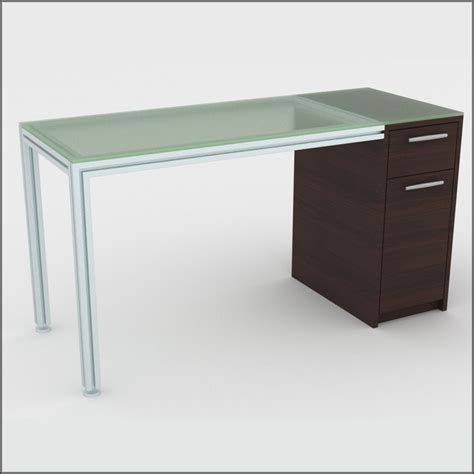 Two Drawer Table by Two Drawer Dispensing Table In Glass Look