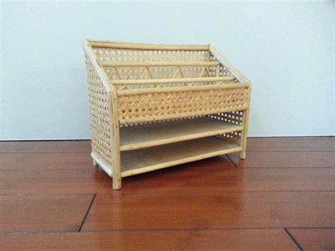 wicker desk organizer 35 vintage woven wicker rattan letter holder mail desk