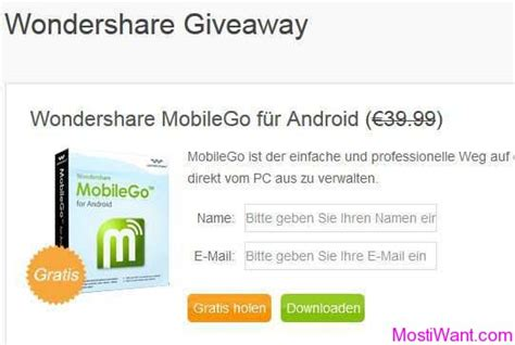 Wondershare Giveaway - 404 not found