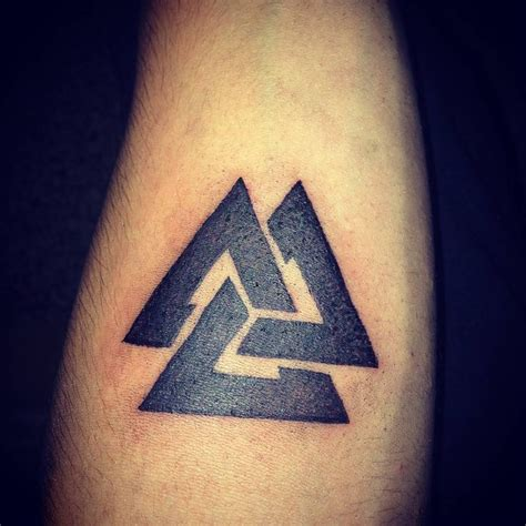 valknut tattoo designs 103 best images on ideas