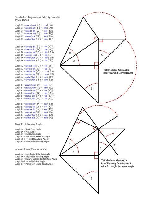 geometr 236 a y trigonometr image gallery tetrahedron formulas
