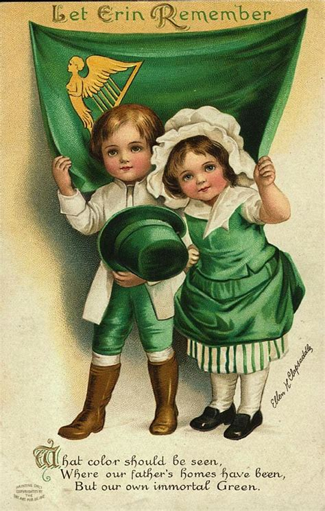 vintage s day st s day vintage postcards wordless wednesday
