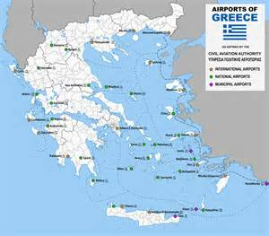 list of airports in greece