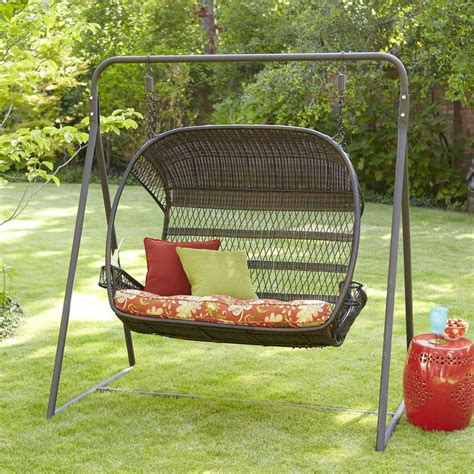 swingasan 174 mocha hanging chair pier 1 imports 17 best images about deck on pinterest a start pillow
