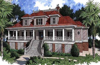 low country house plans with wrap around porch spacious low country home plan 60028rc 1st floor