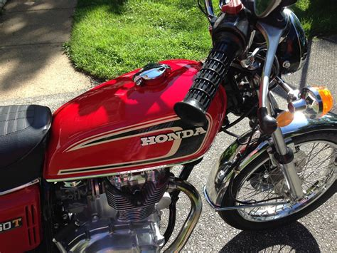 honda cb360 parts restored honda cb360 1975 photographs at classic bikes