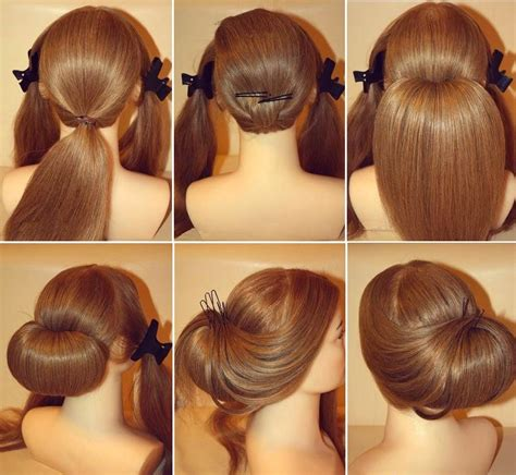 diy how to stunning roll up wedding updo hairstyle - Wedding Hair Up Tutorials