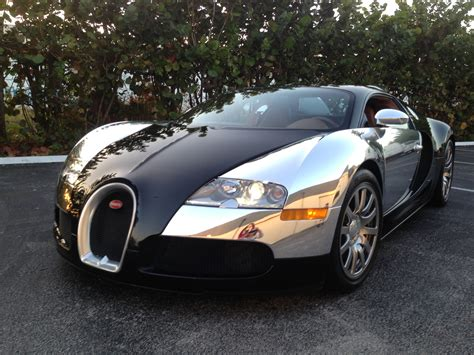 chrome wrapped cars buggati veyron wrapped in chrome car with auto