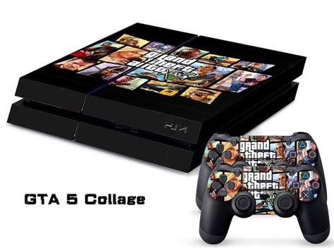 Ps4 Sticker Gta by Gta 5 Collage Ps4 Sticker Ps4 Skin Ps4 Stickers For