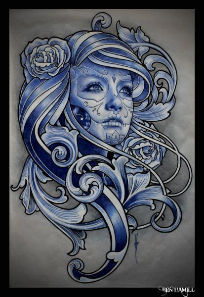 tattoo gallery bournemouth painting by tattoo artist ben hamill from ink studios in