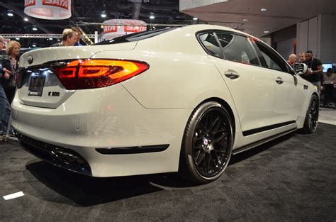 Kia K900 Horsepower High Performance Kia K900 With 650 Hp At Sema Is Fit For Race