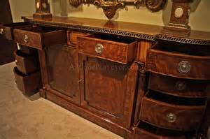 Dining Room Buffet And Sideboards Large Regency Style Mahogany Sideboard Or Credenza