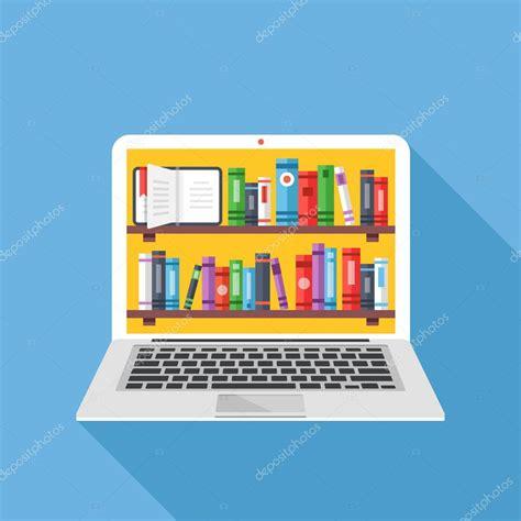 descargar libro illustration now 5 en linea estanter 237 as con los libros en pantalla de laptop biblioteca digital en l 237 nea conceptos