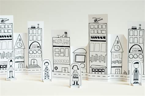 How To Make A City Out Of Paper - made by joel 187 paper city