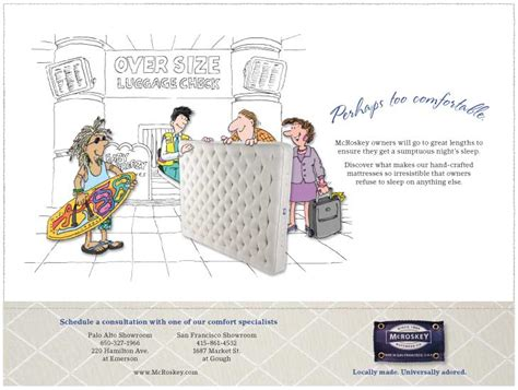 Mccloskey Mattress by Mcroskey Mattress Company Gets A Crafted Makeover