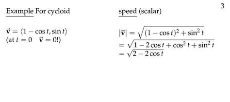 session  velocity  acceleration part  parametric