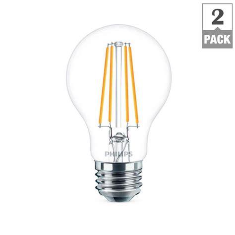 Lu Led In Lite 9 Watt Cool Daylight 137144 philips 40 watt equivalent a19 led light bulb daylight 2 pack 477612 nodesale