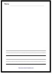 drawing paper template drawing and writing printable the