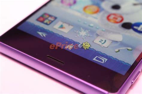 Hp Sony Z3 Di Hongkong sony xperia z3 purple edition 232 ufficiale e arriver 224 questo mese tutto android