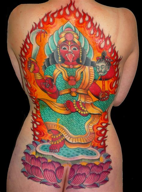 tattoo aftercare myths backpiece mythology religious spiritual tattoo slave to