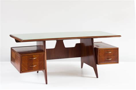 large executive italian writing desk by dassi 1955