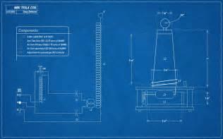Design Blueprints Plans For A Mini 120v Tesla Coil Science Demo Style