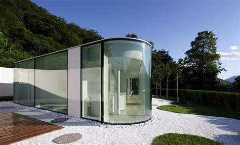 pavillon glas glas pavillon im tessin stilpalast