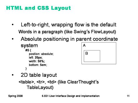 Css Layout Strategies | 6 831 l16 constraints layout