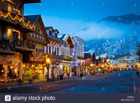 leavenworth christmas lighting festival christmas lights in the western washington town of