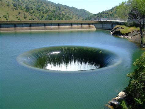 lake berryessa spillway the glory hole lake berryessa napa county california