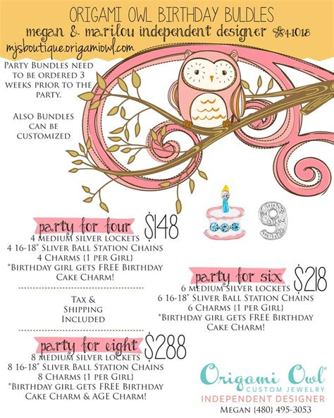 How To Sell Origami Owl - 1000 images about origami owl birthday on