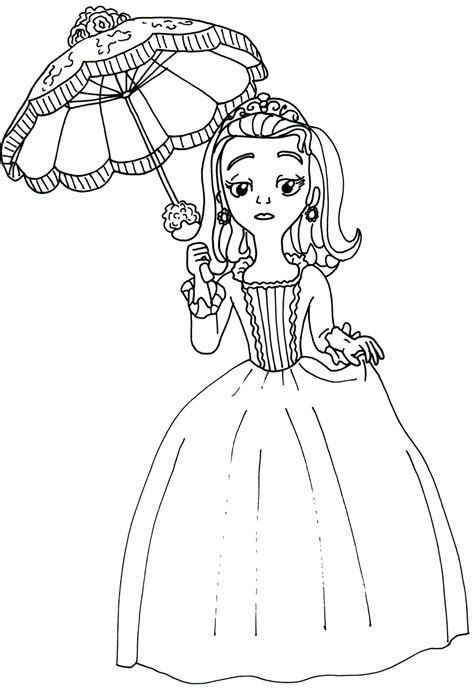 Sofia Coloring Page Coloring Home Sofia The Coloring Pages