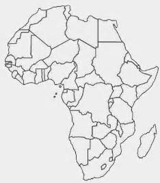 Scramble For Africa Outline Map by Printable Africa Map Free Printable Maps