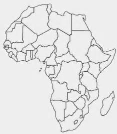 outline map of printable printable africa map free printable maps