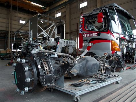rally truck racing more powerful engine to be tested in hino rally truck