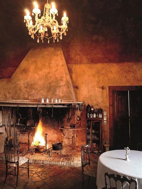 rustic fireplaces castello di semivicoli hotel in casacanditella italy