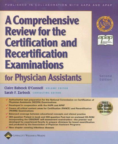 a comprehensive review for the certification and recertification examinations for physician assistants books a comprehensive review for the certification and