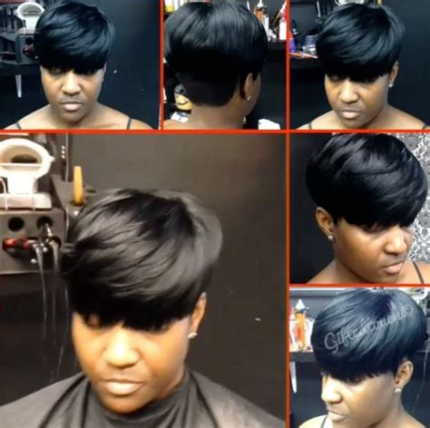 shrt hair styles bowl cut with sew jns natural mushroom short cut by giftedtouch short hair