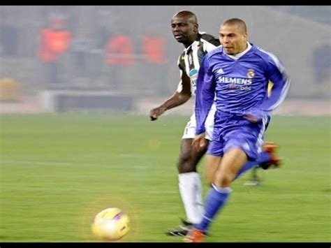 ronaldo vs juventus 2005 ronaldo epic run vs juventus 2005