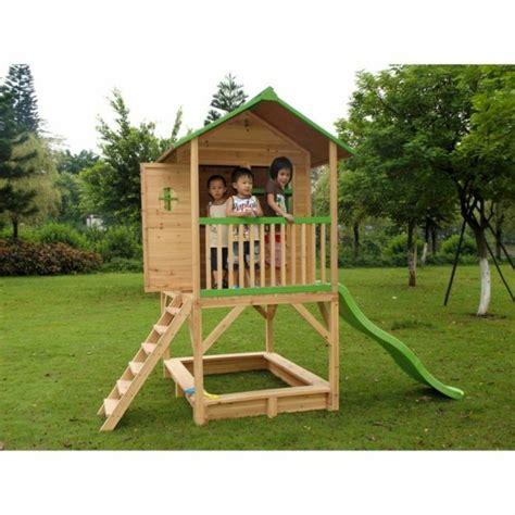 Cabane Ronde En Bois 4426 by Maison Enfant Jardin Pour Le Bonheur De Vos Enfants