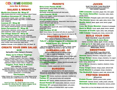 color me mine ridgewood color me greens brings healthy food to bushwick ridgewood