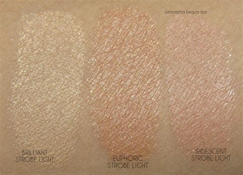 Hourglass Ambient Lighting Powder Swatches by Hourglass Ambient Strobe Lighting Powder Ambient