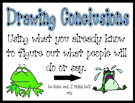 O Drawing Conclusions by Comprehension Strategies Grade 6t A P P S