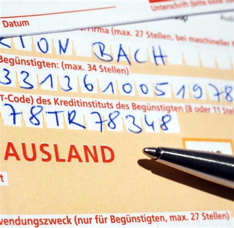 berliner bank iban iban bic 220 berweisung ins ausland ging schief