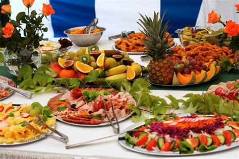 Wedding buffet articles easy weddings