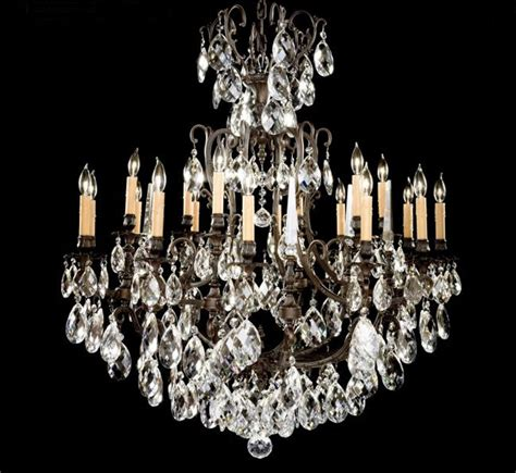 12 light brass chandelier parisian collection 12 6 light extra large brass crystal