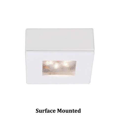 wac lighting cabinet wac lighting led button light white 2 25 inch led