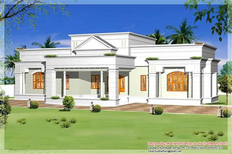 house designs single storey single floor house designs kerala house planner